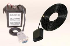 Receptor de GPS com antena ativa de fixação