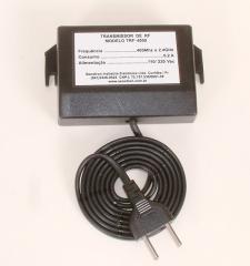 Transmissor de RF para acionamento de mensagens