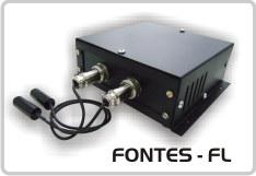 Fontes modelo FL para Módulos Laser da linha LRM
