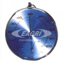 Termo higrometro analogo