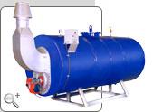 Caldeira geradora de água quente