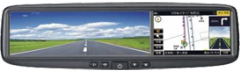 Espelho retrovisor GPS Multimídia