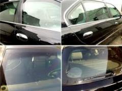Vidros laminados automotivos