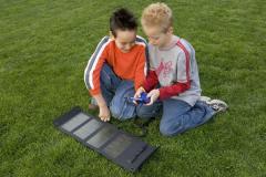 Painel solar portátil