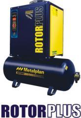 Compressor de Ar de Parafuso - Rotor Plus (10 a 40