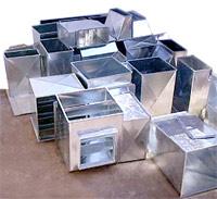 Dutos em Chapa galvanizada e aço carbono