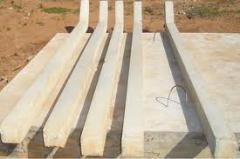 Mourões de concreto