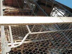 Тela hexagonal galvanizada