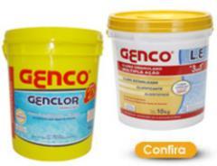 Produtos químicos para tratamento de piscinas, da