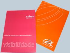 Material promocional e editorial