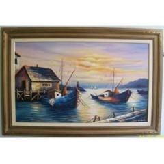 Marinha, pintura a óleo