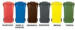 Conteiner para lixo reciclaveis