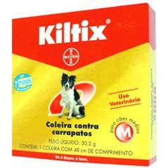 Coleira Anti Pulgas Kiltix.