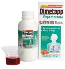 Dimetapp xarope expectorante 120ml.