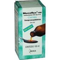 Mucoflux 100mg xarope pediatrico 100ml.