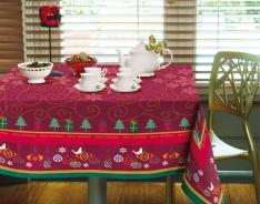 Toalha da Mesa Natal