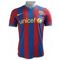 Camisa Barcelona I Authentic 09/10.