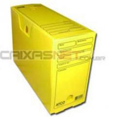 Caixa Plástica para Arquivo Morto em Polionda -