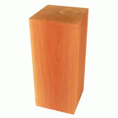 Maçaranduba em bloco de 19 cm.