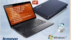 Notebook Lenovo Pentium Dual Core