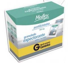 Acetilcisteína 100mg Efervescente 16envelopes