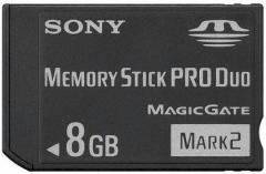 MEMORY STICK PRO DUO 8GB SONY MS-MT8G MAGICGATE