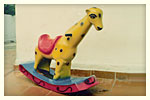 Brinquedos de fibra para playground.