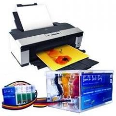 Epson Stylus Office T1110 + Bulk Ink Jet Microfine