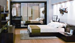 Dormitório e closet.
