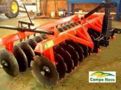 Maquinas e equipamentos para tratamento do solo.