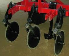 Máquina de preparação do solo