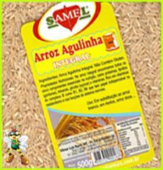 Arroz Agulhinha Integral 500 g.