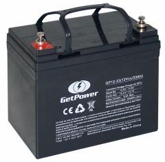 Bateria get power 12v 33Ah.