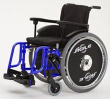 Сadeiras de rodas manuais Agile
