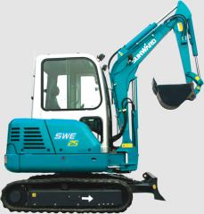 Mini escavadeira SWE25.