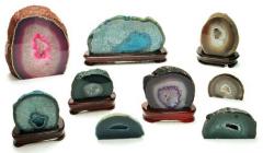 Pedra Geodo de Ágata