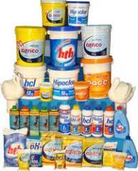 Produtos para Tratamento de Piscinas
