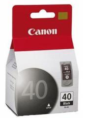 Cartucho de tinta Canon PG-40 preto.