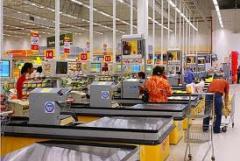 Loja do supermercado