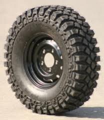 Rodas e pneus para automóveis especiais