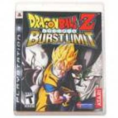 DragonBall Z Burst Limit Blu-ray Game for PS3 .