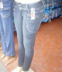 Jeans feminino.