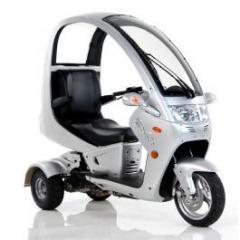 Triciclo Xara 150cc - Prata.