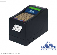 Scritta-Impressor Térmico cadastra informações