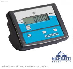 Indicador digital modelo 5.000 divisões.