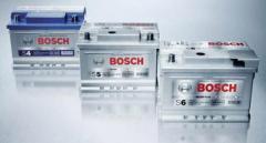 Baterias Bosch.