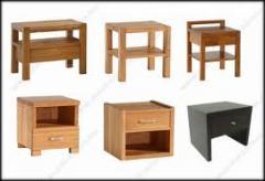 Mobiliário de blocos da madeira pesada
