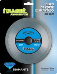 Discos diamantados - contínuo.