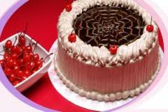 Tortas de waffle e chocolate