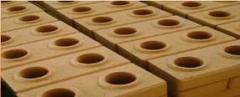 Mini-fabricas para a produção de tijolos